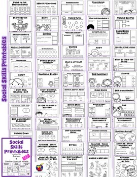 Crush image for free printable social skills worksheets for adults