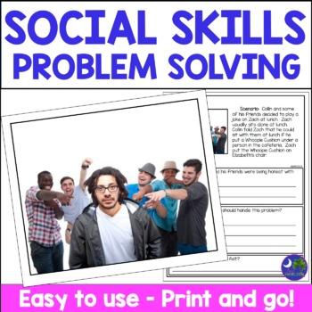 Social Skills Problem Solving Facial Expressions