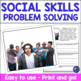 Social Skills Speech Therapy for Problem Solving & Facial Expressions