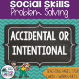 Social Skills Problem Solving: Accidental or Intentional?