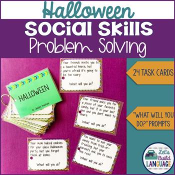 Social Skills Problem Solving: Halloween