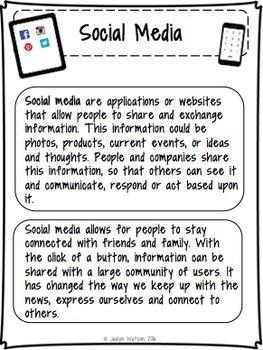 Social Skills Problem Solving: Social Media