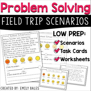 Social Skills Problem Solving Scenarios : Field Trips