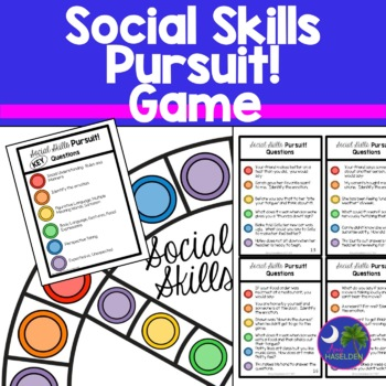 Social Skills Game: Social Skills Pursuit with 540 Questions and Answers