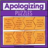 Social Skills Puzzles - Apologizing