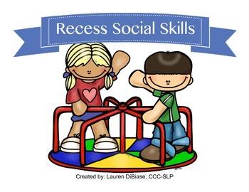 Social Skills - Recess Edition