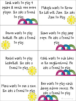 Social Skills at Recess for Elementary