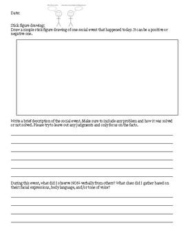 Social Skills Reflection Journal