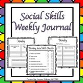 Social Skills Reflection Journal (Weekly)