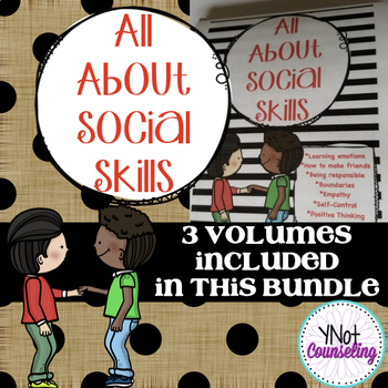 Social Skills Resource Book: All About Social Skills GROWING BUNDLE