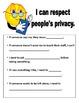 Social Skills Respect Packet