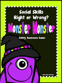 "Social Skills ""Right or Wrong?""  Safety Awareness Games *M"