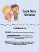 Social Skills/Role Play Scenario Cards