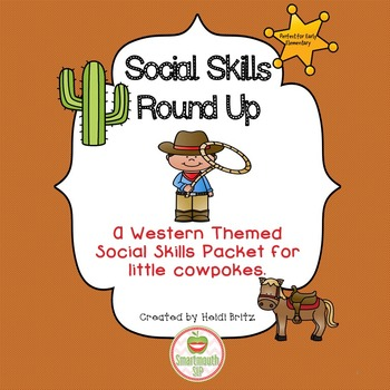 Social Skills Activities Cowboys