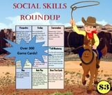 Social Skills Roundup- Over 300 Game Cards!
