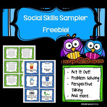 Social Skills Sampler Freebie