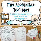 Social Skills Story:  Saying No  Winter