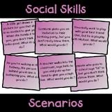 Social Skills Scenario Game Cards