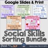 Social Skills Scenario Sorting Bundle