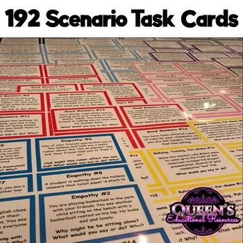 160 Social Skills Scenario Task Cards