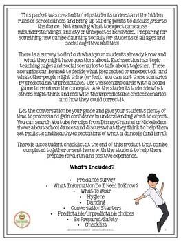 School Dance Social Skills