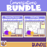 Social Skills for Autism: Conversations bundle for speech & language therapy