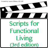 Speech Scripts for Functional Living - 3rd Edition