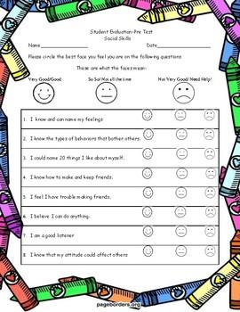 Social Skills Self Assessment