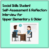 Social Skills Self-Assessment: Reflection Interview for Up
