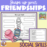 Distance Learning Social Skills for Autism: Shape Up Your