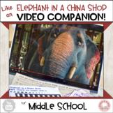 #distancelearning Social Skills Short Like Elephant in Chi
