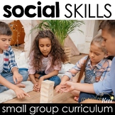 Social Skills Group Counseling Curriculum & Social Skills Activities