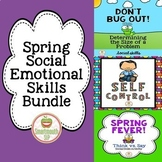 Social Emotional Learning Social Skills Activities Spring Bundle