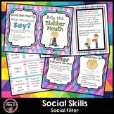 Social Skills and Stories Social Filter