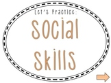 Social Skills & Social Language Packet - Powerpoint