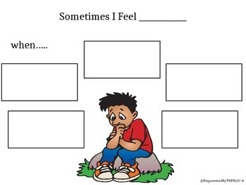 Social Skills - Sometimes I Feel.....