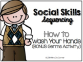 Social Skills Sorting - Germs and How to Wash Your Hands