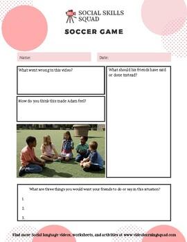 Social Skills Squad: Empathy - Soccer Game