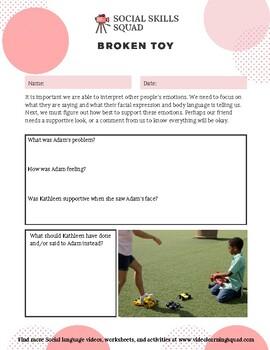 Social Skills Squad: Empathy - Toy