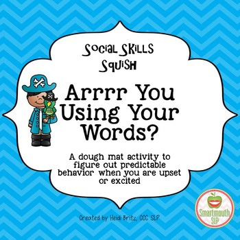 Social Skills Activities: words and emotions