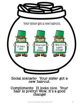 St. Patrick's Day:  Social Skills