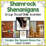 St. Patrick's Day:  Social Skills, Group Work