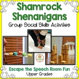 St. Patricks Day Social Skills Group Work