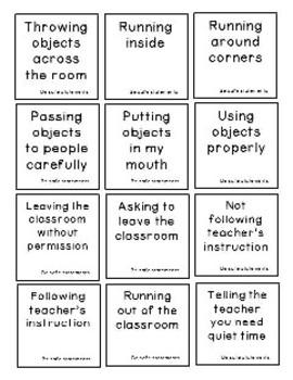 Social Skills: Statement sorting