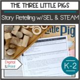 Social Skills Steam Activities The 3 Little Pigs