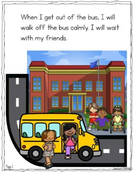 What Should I Do When I Arrive At School -* A Social Skills Story*