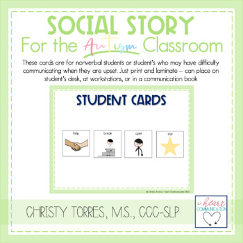 """Positive Behavior Social Story for Autism """"Sometimes I Don't Get What I Want"""""""