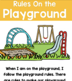Social Skills Story 20 Playground Rules Story Poster Writing Partner Play + Game
