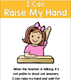 Social Skills Story 4 - I Can Raise My Hand To Share