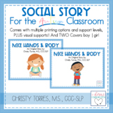"Behavior Social Story ""Nice Hands"" for Children with Autis"